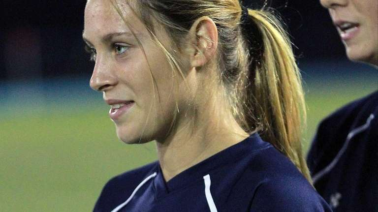 Massapequa high school girls soccer player Rosie DiMartino