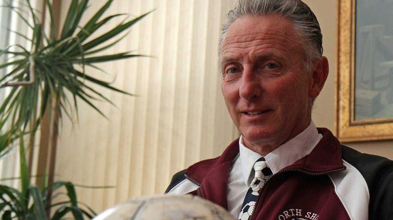 Wheatley and North Shore retired soccer coach Bernie
