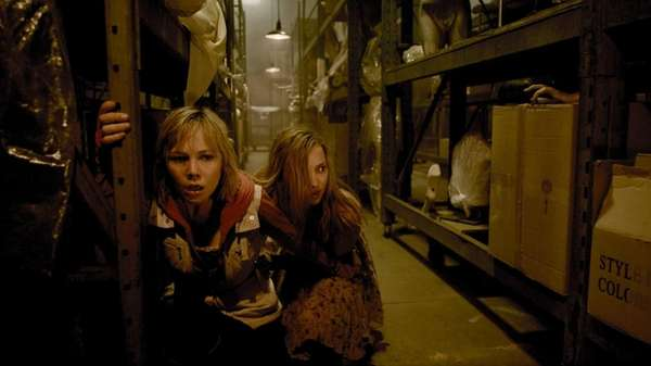 "Adelaide Clemens and Erin Pitt in ""Silent Hill:"