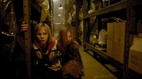Adelaide Clemens and Erin Pitt in