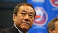 New York Islanders owner Charles Wang at a