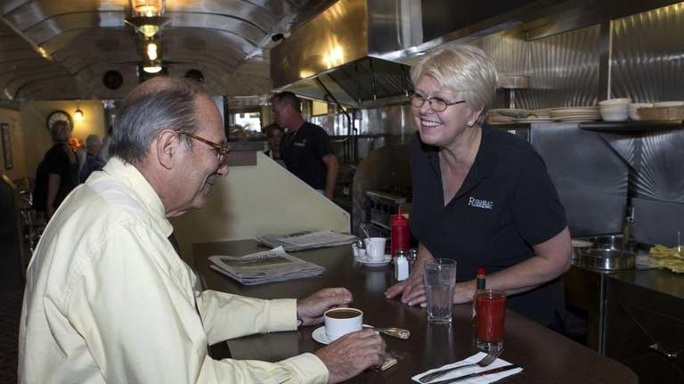 Liz Strebel, owner of the Riverhead Diner and