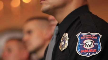 The swearing-in ceremony for the new Muttontown Police