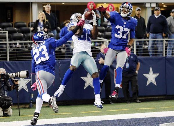 Dallas Cowboys wide receiver Dez Bryant makes a