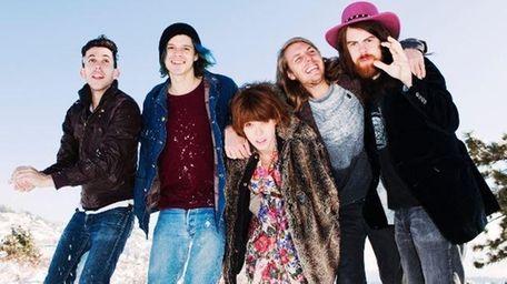 The California quintet Grouplove got its big break