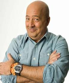 "Travel Channel's Andrew Zimmern, star of ""Bizarre Foods"