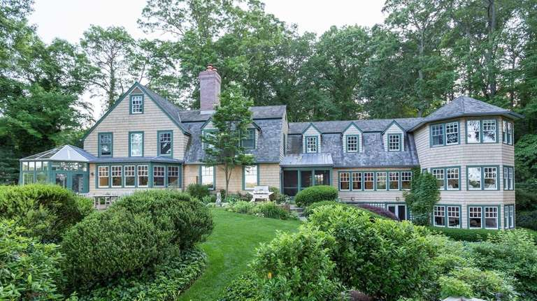 This Laurel Hollow mansion, listed for $5.995 million,