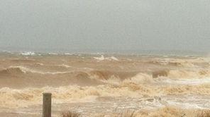 The Long Island Sound, shot around 10 a.m.,