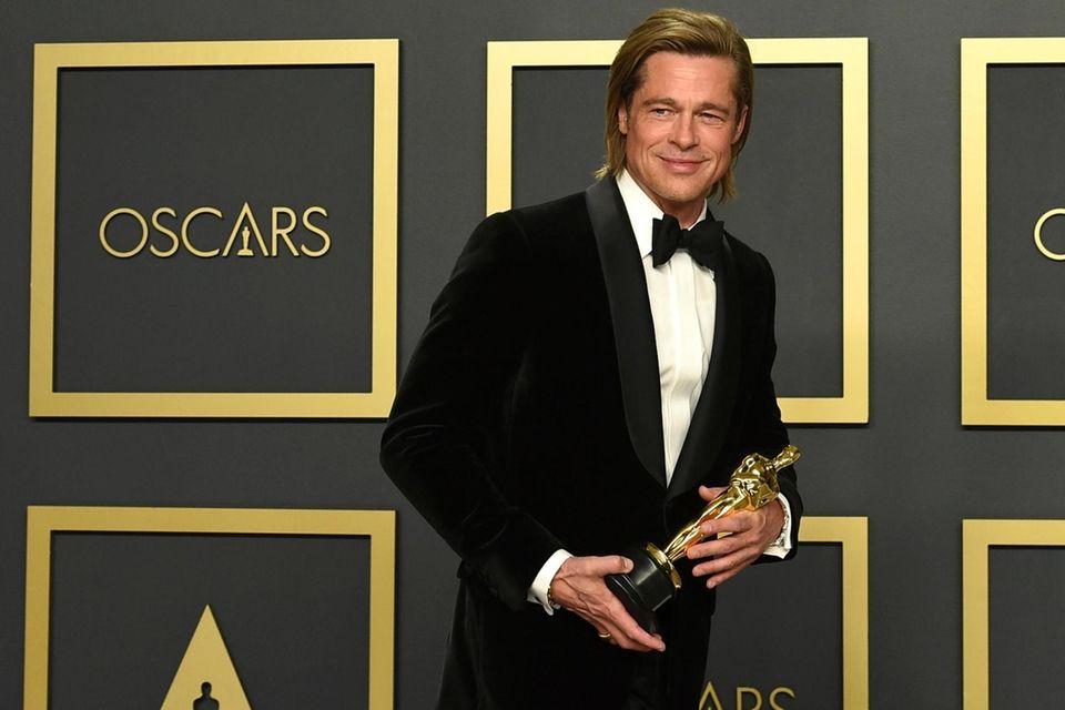Brad Pitt, winner of the award for best