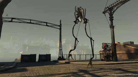 Dishonored involves a lone wolf assassin who can
