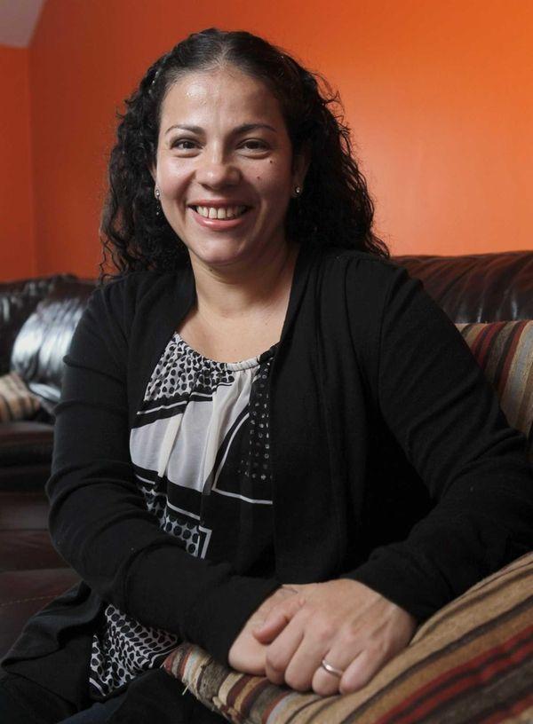 Carin Ceballos, 38, a Medford housewife, was among