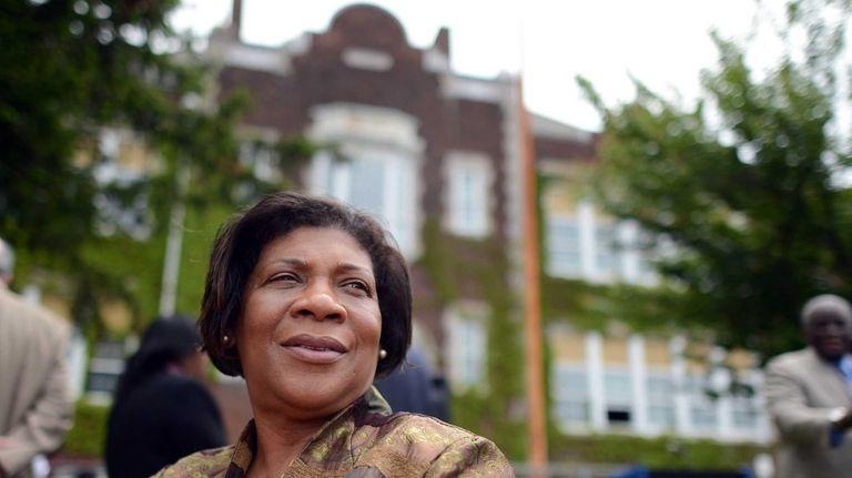 Dr. Patricia Garcia, superintendent of schools in Hempstead