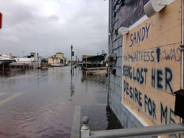 Superstorm Sandy devastated the Nautical Mile in Freeport
