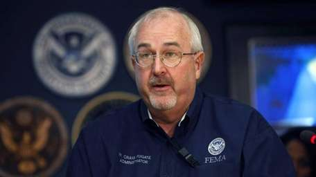 Craig Fugate, administrator of the Federal Emergency Management
