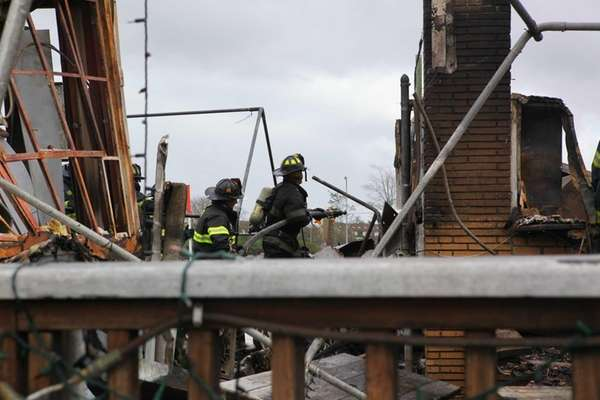 Firefighters were unable to save Tropix, an outdoor