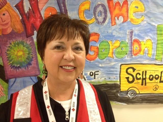 Janice Lehman, from South Carolina, a Red Cross