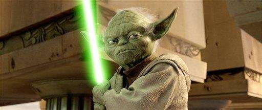 Jedi Master Yoda defends the jedi in Star