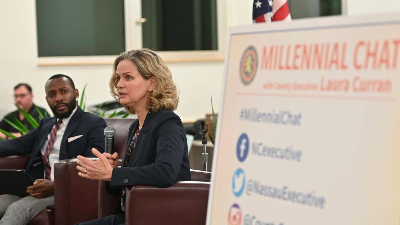 On Monday, Nassau County Executive Laura Curran answered