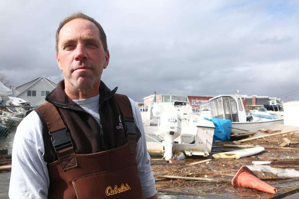 Frank Rapczyk, owner of Great Bay Marine in