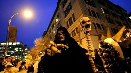 The Halloween parade is being postponed.