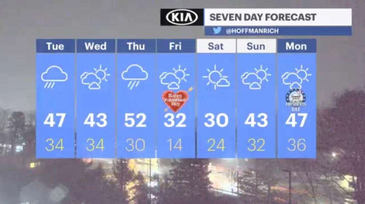 News 12 Long Island meteorologist Rich Hoffman has
