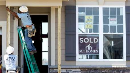 An index says national home prices increased 2