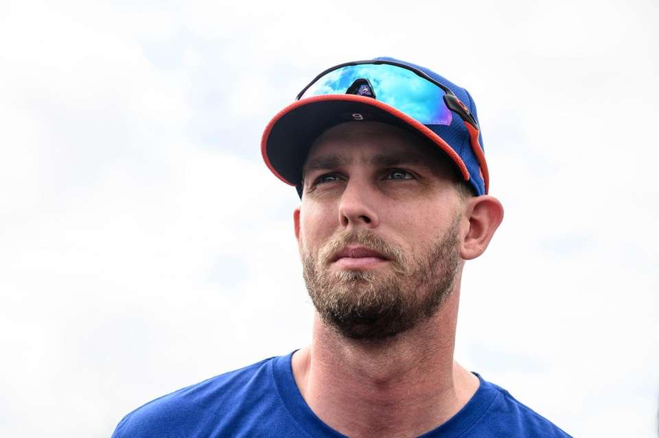 Mets player Jeff McNeil during a spring training