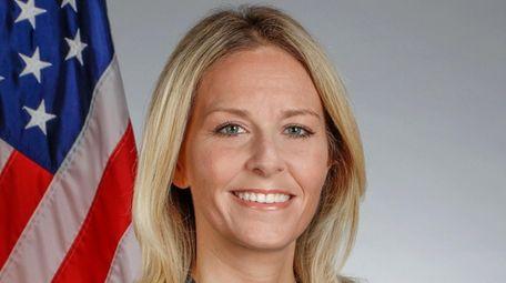 Plainview Water District Commissioner Amanda Field.
