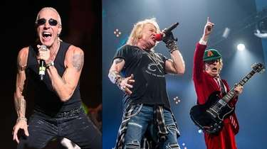 Dee Snider, left, would like to see AC/DC