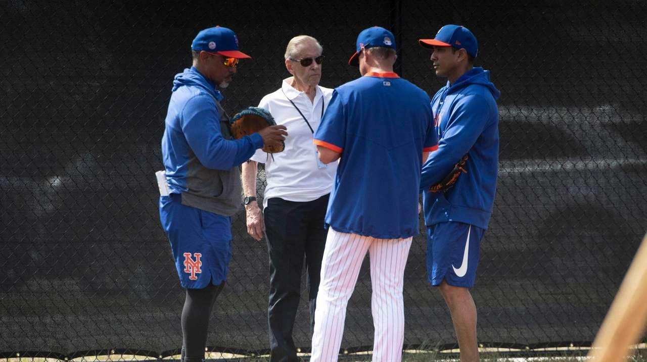 On Tuesday, new Mets manager Luis Rojas spoke