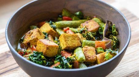 Organic Krush in Rockville Centre's vegetable broth bowl.