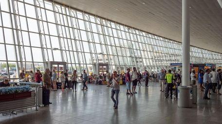 John F. Kennedy International Airport, gate 4 in