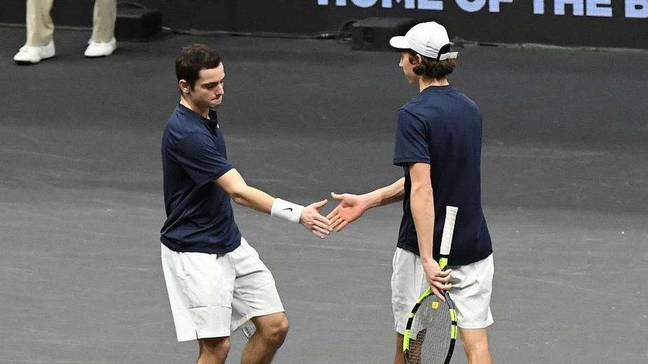 Doubles team from Hofstra gets taste of pro competition