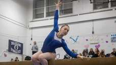 Roslyn's Shani Sirota competes in the Nassau County