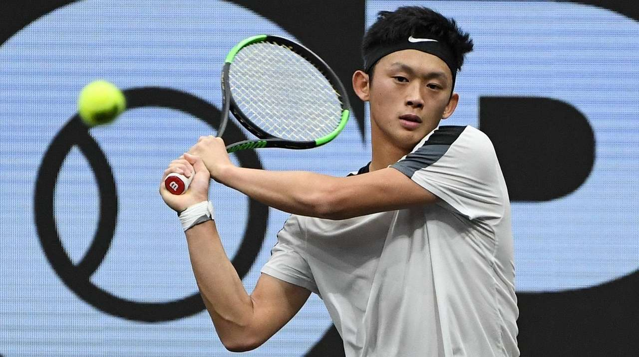 Jericho S Brian Shi Plays Well But Falls To Cameron Norrie In New York Open Newsday