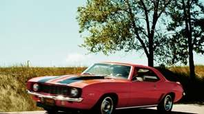 The horsepower reported for the 1969 Camaro Z-28,