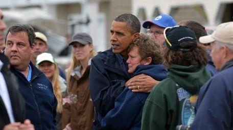 Obama visits New Jersey