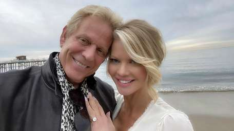 Don Felder and Diane McInerney are pictured at