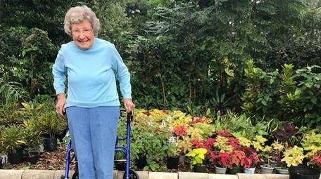Master gardener Ruthie Squire, 101, began potting plants