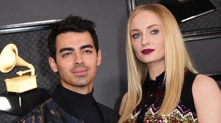 Joe Jonas and wife Sophie Turner attend the