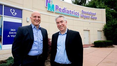 Steven Katz, left, and Dr. Jeffrey Schor of