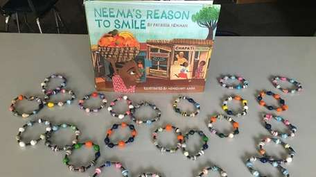 """Neema's Reason to Smile,"" by Patricia Newman, inspired"