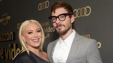 Hilary Duff and Matthew Koma attend the Amazon