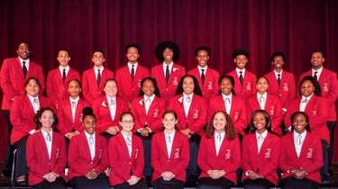 Freeport High School's select chorale was the only