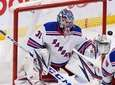 Rangers goaltender Igor Shesterkin makes a save on