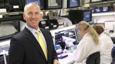 John J. Sperzel is CEO of Chembio Diagnostics