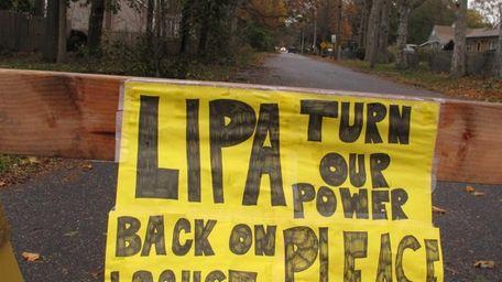 A plea to the Long Island Power Authority
