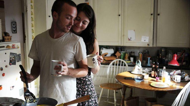 Aaron Paul (as Charlie Hannah) and Mary Elizabeth