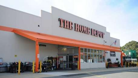This is a Home Depot in Huntington Station,