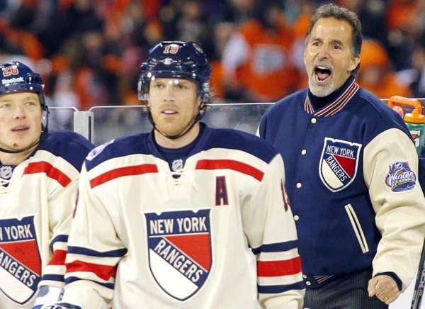 2. Tortorella lashes out at the referees Jan.